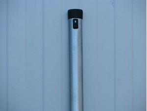 Obrázek z Plotový sloupek pozinkovaný – délka 2400 mm Ø 48 mm